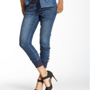 Seven7 Dark Denim Casual Jogger Jeans